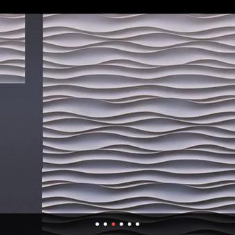 3D ploķstēs 50x50cm