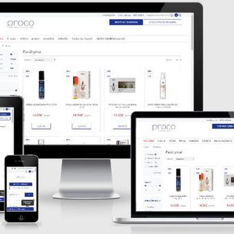Interneto svetainių kūrimas    El. parduotuvių kūrimas / E-svetainė  Andrius / Darbų pavyzdys ID 856095