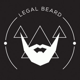 LEGAL BEARD logotipas.