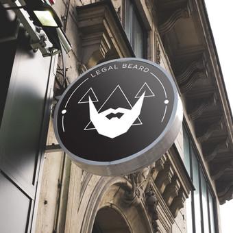 LEGAL BEARD logotipo pristatomasis pateikimas.