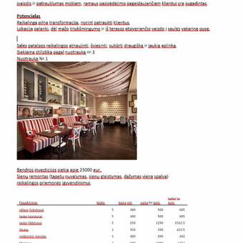 Verslo analitika / Strategija / Rinkodara / Marketingas / Kęstutis Vileikis / Darbų pavyzdys ID 857851