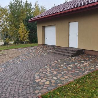 Akmens mūro darbai, Šlaitų ir pakrančių tvirtinimas,Gabion / Saulius / Darbų pavyzdys ID 858543