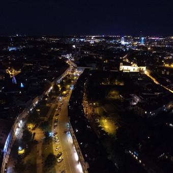 Nakties panorama - užsakymas spec. renginio metu