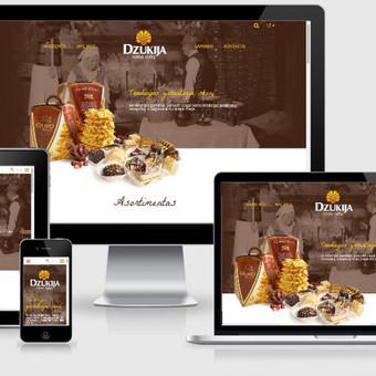 Interneto svetainių kūrimas    El. parduotuvių kūrimas / E-svetainė  Andrius / Darbų pavyzdys ID 861039