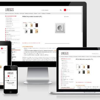 Interneto svetainių kūrimas    El. parduotuvių kūrimas / E-svetainė  Andrius / Darbų pavyzdys ID 861047
