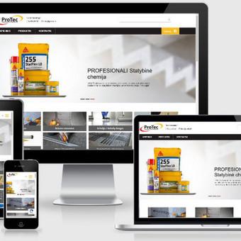 Interneto svetainių kūrimas    El. parduotuvių kūrimas / E-svetainė  Andrius / Darbų pavyzdys ID 861057