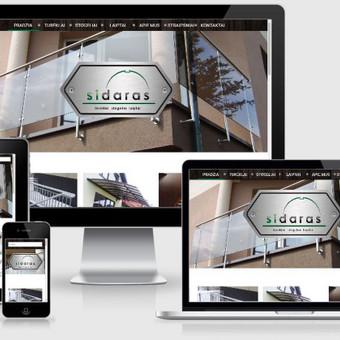 Interneto svetainių kūrimas    El. parduotuvių kūrimas / E-svetainė  Andrius / Darbų pavyzdys ID 861061