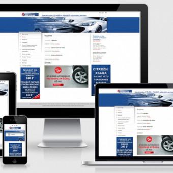 Interneto svetainių kūrimas    El. parduotuvių kūrimas / E-svetainė  Andrius / Darbų pavyzdys ID 861079