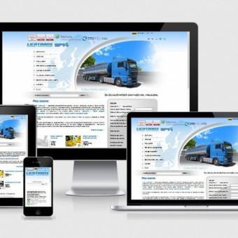 Interneto svetainių kūrimas    El. parduotuvių kūrimas / E-svetainė  Andrius / Darbų pavyzdys ID 861083