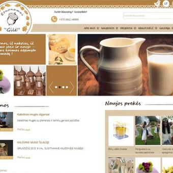Interneto svetainių kūrimas    El. parduotuvių kūrimas / E-svetainė  Andrius / Darbų pavyzdys ID 861089