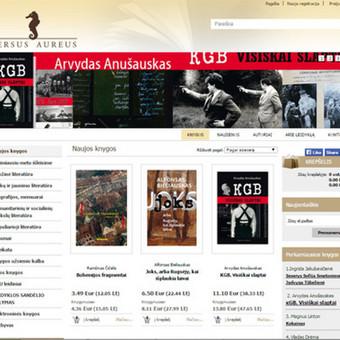 Interneto svetainių kūrimas    El. parduotuvių kūrimas / E-svetainė  Andrius / Darbų pavyzdys ID 861095