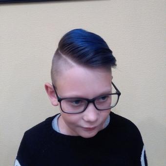Vaiku plauku dazymas