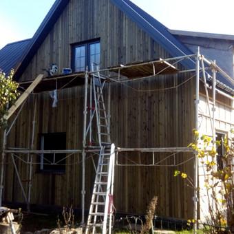 Senu mediniu namu renovacija,rekonstrukcija / Aivaras / Darbų pavyzdys ID 862237