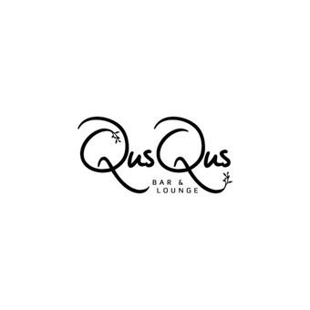 QusQus - bar and louge       Logotipų kūrimas - www.glogo.eu - logo creation.
