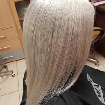 Modeliniai kirpimai, plaukų dažymas, ilgal.plaukų tiesinimas / Grožio Salonas/Kirpykla / Darbų pavyzdys ID 874963
