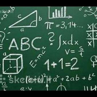 Matematikos mokytoja - korepetitorė / Loreta / Darbų pavyzdys ID 878067