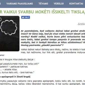 Tekstų kūrėja | Straipsnių, įvairių tekstų rašymas / Jurgita Juknaitė-Kozlova / Darbų pavyzdys ID 879361