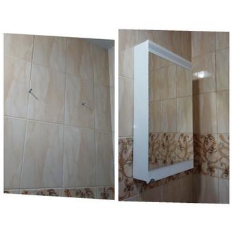 Spintelės kabinimas, montavimas, prisukimas  vonioje, prie keraminių plytelių