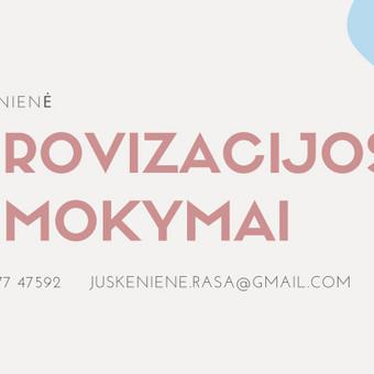 UŽIMTUMAS/EDUKACIJA - Renginių organizavimas / Rasa / Darbų pavyzdys ID 892303