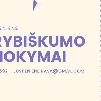 UŽIMTUMAS/EDUKACIJA - Renginių organizavimas / Rasa / Darbų pavyzdys ID 892307