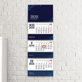 UAB Porolonas 2020 m. Kalendoriaus dizainas @ 2019 Linorté Design