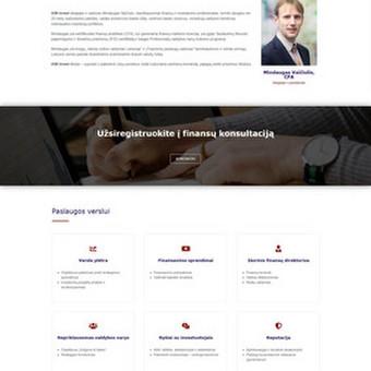 Šiuolaikiškos interneto svetainės / Andrius Mankauskas / Darbų pavyzdys ID 897553