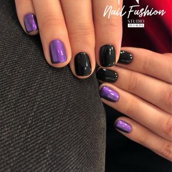 Akriliniai,geliniai nagai.gel.lakavimas,pedikiūras / Nail fashion studio / Darbų pavyzdys ID 898827