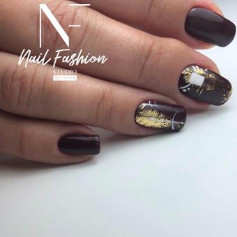 Akriliniai,geliniai nagai.gel.lakavimas,pedikiūras / Nail fashion studio / Darbų pavyzdys ID 898869