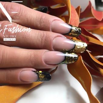 Akriliniai,geliniai nagai.gel.lakavimas,pedikiūras / Nail fashion studio / Darbų pavyzdys ID 898873