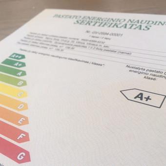 Pastatų energetinio naudingumo paslaugos, A, A+, A++ / Laurynas / Darbų pavyzdys ID 899505