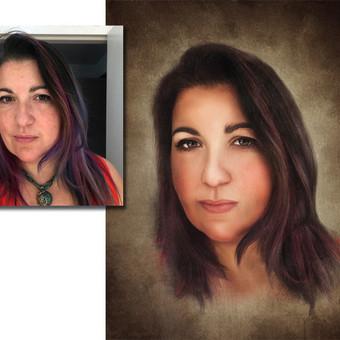 Nuotraukų restauravimas, spalvinimas, atpaišymas. / Arina Aksionova / Darbų pavyzdys ID 899975