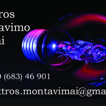 Elektros Instaliacija Vilniaus r. / Manfred / Darbų pavyzdys ID 901759
