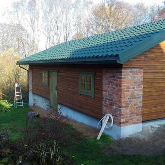 Karkasiniu namu statyba remontas  renovavimas Stogu dengimas / ovidijus / Darbų pavyzdys ID 906571