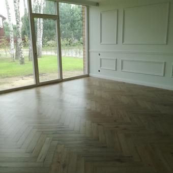 Medinių grindų įrengimas / Arnas / Darbų pavyzdys ID 917961
