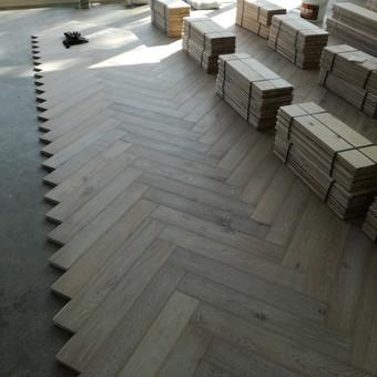 Medinių grindų įrengimas / Arnas / Darbų pavyzdys ID 917969
