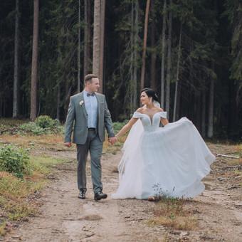 Priimu registracijas 2020 metų vestuvių sezonui! / Snieguolė / Darbų pavyzdys ID 921241