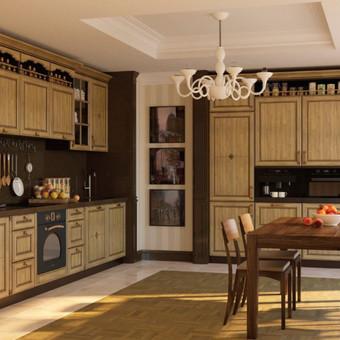 Baldų kaina nuo 350,-eur , nurodyta orientacinė baldų kaina už bėginį metrą. Tiksli kaina skaičiuojama po projekto suderinimo.