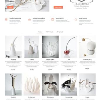 #1 Interneto svetainių, bei parduotuvių kūrimas,  SEO / Jonas Urbonas / Darbų pavyzdys ID 926399