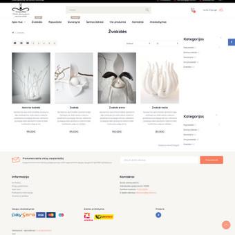 #1 Interneto svetainių, bei parduotuvių kūrimas,  SEO / Jonas Urbonas / Darbų pavyzdys ID 926997