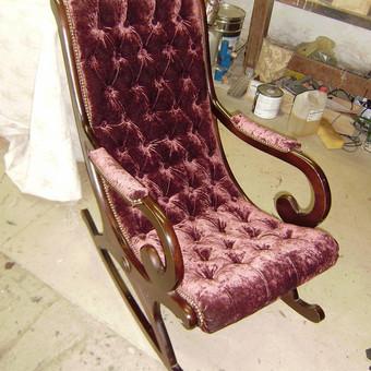 Minkštų baldų remontas / Baldų restauravimas / Darbų pavyzdys ID 932479