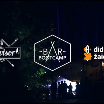 """Akimirkos iš renginio """"Bar Bootcamp 2019"""",  kurio metu graviravau taures.  1:08"""