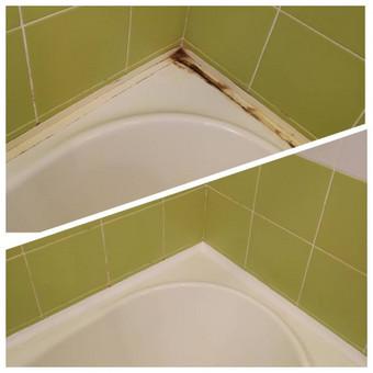 Vonios kraštinių, perimetro silikonavimas, sandarinimas, profiliuko montavimas.