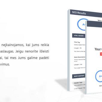 IT sprendimai | svetainės | el. parduotuvės | programavimas / Krikis / Darbų pavyzdys ID 951557