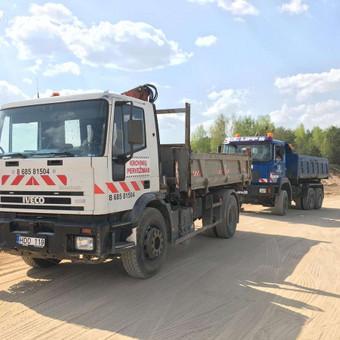 Krovinių pervežimas / UAB Gontera / Darbų pavyzdys ID 961501