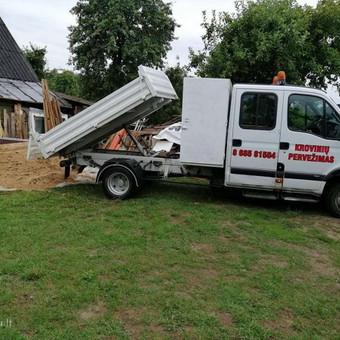 Krovinių pervežimas / UAB Gontera / Darbų pavyzdys ID 961509