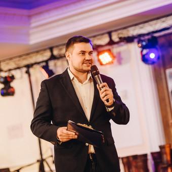 Jūsų šventės vedėjas - IGNAS BASIJOKAS ir DJ komanda / Ignas Basijokas / Darbų pavyzdys ID 972111
