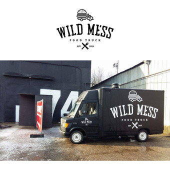 WILD MESS (virtuvė ant ratų) logotipas