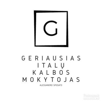 Italų kalbos kursai, pamokos / Alessandro / Darbų pavyzdys ID 979177