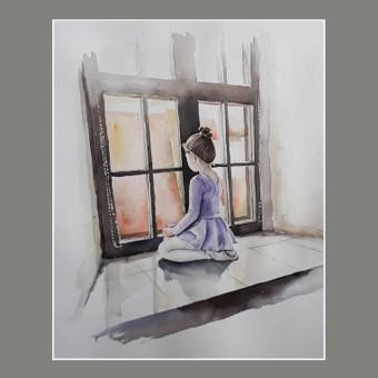 Piešiu iš nuotraukų Painting From Photo / Alina Garbačauskaitė / Darbų pavyzdys ID 985813