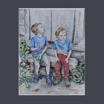 Piešiu iš nuotraukų Painting From Photo / Alina Garbačauskaitė / Darbų pavyzdys ID 985815